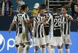 """Rezultatyvioje dvikovoje """"Juventus"""" palaužė PSG ekipą"""