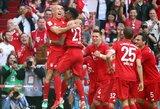 """Dominavimas Vokietijoje tęsiasi: """"Bayern"""" septintą kartą iš eilės iškovojo """"Bundesliga"""" čempiono titulą"""