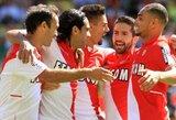 """""""Ligue 1"""" čempionate ir toliau pirmauja """"Monaco"""" (+ kiti rezultatai)"""