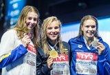 Geriausią sezono rezultatą pasiekusi R.Meilutytė – Europos čempionė!