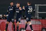 """""""Juventus"""" vietiniame čempionate iškovojo trečiąją pergalę iš eilės"""