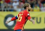"""Ispanijos rinktinės treneris žavisi S.Ramosu: """"Jis yra pavyzdys kitiems"""""""