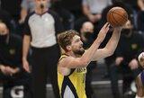 """""""Pacers"""" su D.Saboniu paskutiniame ketvirtyje pralaimėjo atkarpą 6 – 31"""