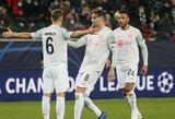 """Pergalingą įvartį pelnęs J.Kimmichas pripažino, jog """"Bayern"""" rungtynėse lydėjo sėkmė"""