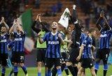 """Be klaidų: """"Inter"""" iškovojo jau penktą pergalę iš eilės Italijoje"""