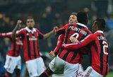 """""""Milan"""" savame stadione užtikrintai įveikė """"Barcelona"""" klubą"""