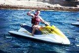 D.Rapšys: apie vandens motociklus ir norą išbandyti irklentę