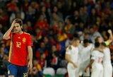 Tautų lyga: tris anglų įvarčius praleidę ispanai patyrė pirmą pralaimėjimą namuose nuo 2003 metų