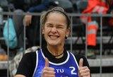 V.Vitkauskaitė ir U.Andriukaitytė galingai pradėjo paplūdimio tinklinio turnyrą Slovėnijoje
