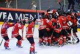 Pasaulio ledo ritulio čempionato finale susitiks Švedijos ir Šveicarijos rinktinės