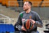 """L.Lekavičius žaidė blankiai, tačiau """"Panathinaikos"""" vietiniame čempionate iškovojo užtikrintą pergalę"""