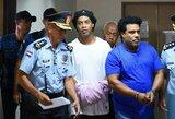 Nauji nemalonumai Paragvajuje kalinčiam Ronaldinho: įtariamas pinigų plovimu