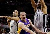 """""""Lakers"""" šešioms savaitėms prarado S.Blake'ą"""