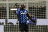 """R.Lukaku dublis atvedė """"Inter"""" į pergalę ir į pirmą """"Serie A"""" turnyrinės lentelės vietą"""
