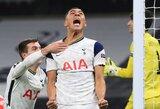 """Europos lyga: pergalę iškovojęs """"Tottenham"""" tapo grupės nugalėtoju"""