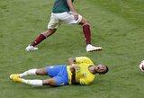 Neymaras pakomentavo incidentą su M.Layunu ir pasijuokė iš Meksikos rinktinės
