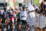 """Ketvirtasis """"Tour of Qatar"""" dviračių lenktynių etapas: A.Kruopis – 8-as, G.Bagdonas – 17-as"""