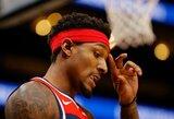 """""""Nets"""" žvaigždžių trejetuką sieks suformuoti gaudami """"Wizards"""" lyderį"""