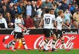 """Pirmasis Ispanijos penketas tolsta: """"Valencia"""" vėl sužaidė lygiosiomis"""