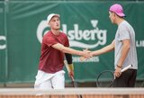 Prezidento taurės turnyro dvejetų varžybų finale žais lietuvių pora
