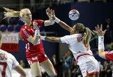 Pasaulio moterų rankinio čempionate - lenkių pergalė net 34 įvarčių skirtumu (visi rezultatai)