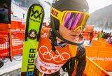 Kalnų slidininkas A.Drukarovas Italijoje užėmė 6-ą vietą