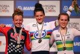 E.Manikaitė pasaulio jaunių plento dviračių čempionate – 26-a