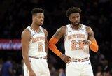 """""""Knicks"""" po mainų sustiprinę krepšininkai nuo pralaimėjimo neišgelbėjo"""