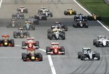 """Kinijos GP lenktynėse – N.Rosbergo dominavimas, """"Ferrari"""" susidūrimas ir L.Hamiltono problemos"""