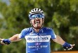 """Nuo visų persekiotojų pabėgęs J.Alaphilippe'as – naujasis """"Tour de France"""" lyderis"""