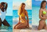 Seksualumas liejosi per kraštus: E.Bouchard, S.Williams ir C.Wozniacki paplūdimyje pozavo pusnuogės