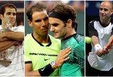 Oficialiai pirmąja pasaulio rakete tapęs R.Federeris pagerino visą šūsnį rekordų