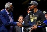 """NBA žaidėjas: """"Tikiuosi dabar K.Durantas persikels žaisti kitur ir pabandys laimėti titulą pats"""""""