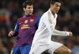 """L.Messi: """"Džiaugiuosi, kad C.Ronaldo žais Pasaulio čempionate"""""""