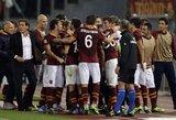 """Tobulas ir istorinis """"Roma"""" klubo sezonas tęsiasi"""