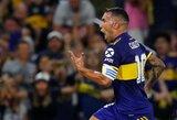 """Nuostabus C.Tevezo įvartis prieš D.Maradonos komandą dovanojo """"Boca Juniors"""" Argentinos čempionų titulą"""