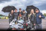Motociklų lenktynėse šeštadienį – ir lietaus, ir šampano purslai