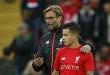"""J.Kloppas: """"P.Coutinho situacija – sudėtinga"""""""