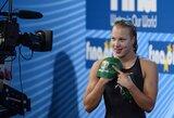 Atsakas varžovėms: R.Meilutytė pagerino antrą pasaulio rekordą! (R.Meilutytės komentaras)