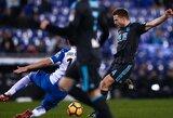 """Rungtynių pabaigoje įvartį praleidęs """"Real Sociedad"""" klubas apmaudžiai paleido pergalę iš savo rankų"""