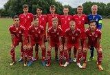 Baltijos taurės turnyrą septyniolikmečiai baigė pralaimėjimu