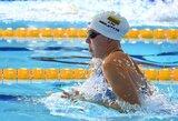 Savo taktika nustebinusi R.Meilutytė pateko į finalą, J.Jefimova pagerino lietuvės rekordą