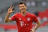 """Vokietijoje – R.Lewandowskio """"hat-trickas"""" ir triuškinama """"Bayern"""" pergalė"""