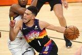 """Vakarų lyderių akistatoje – """"Suns"""" pergalė po pratęsimo"""