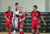 """Dėl Lietuvos salės futbolo čempionų titulo susikaus """"Vytis"""" ir """"Pramogos-SC"""""""