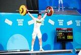 Ž.Žilinskas Europos sunkiosios atletikos čempionate – 14-as
