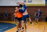 """Kauno rankininkai priartėjo prie kito EHF """"Iššūkio"""" taurės turnyro etapo"""
