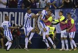 """Sensacija Ispanijoje: 2 įvarčius per vieną minutę praleidusi """"Barcelona"""" patyrė pirmąjį sezono pralaimėjimą"""