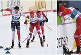 Dramatiškas pasaulio čempionato finišas: norvegas sutrukdė A.Bolšunovui laimėti auksą ir buvo diskvalifikuotas