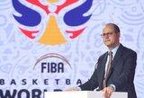 """FIBA vadovas: """"Mes nenorime siųsti žaidėjų ten, kur nesiųstume ir savo vaikų"""""""